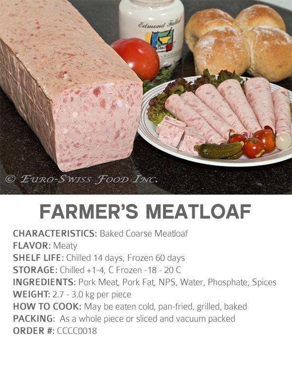 Farmers Meatloaf